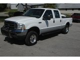 2004 Oxford White Ford F250 Super Duty XLT Crew Cab 4x4 #34851793