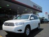 2010 Blizzard White Pearl Toyota Highlander V6 #34851454