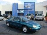 1997 Ford Taurus Pacific Green Metallic