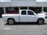 2005 Bright White Dodge Ram 1500 SLT Quad Cab #34851237