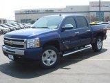 2010 Laser Blue Metallic Chevrolet Silverado 1500 LT Crew Cab 4x4 #34851527