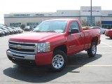 2011 Victory Red Chevrolet Silverado 1500 LS Regular Cab #34851536