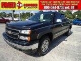 2006 Black Chevrolet Silverado 1500 Z71 Extended Cab 4x4 #34851853