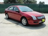 2008 Redfire Metallic Ford Fusion S #34851276