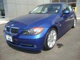 2007 Montego Blue Metallic BMW 3 Series 335i Sedan #34851063