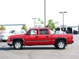 2006 Victory Red Chevrolet Silverado 1500 Z71 Crew Cab 4x4 #34851611