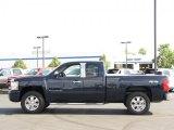 2008 Dark Blue Metallic Chevrolet Silverado 1500 LT Extended Cab 4x4 #34851615
