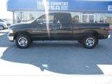 2003 Black Dodge Ram 1500 SLT Quad Cab 4x4 #34851619