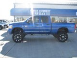 2007 Dodge Ram 3500 Electric Blue Pearl