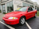 2002 Bright Red Chevrolet Cavalier LS Coupe #34851086
