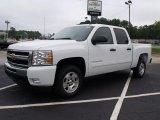 2011 Summit White Chevrolet Silverado 1500 LT Crew Cab #34851336