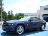 2011 Kona Blue Metallic Ford Mustang V6 Premium Convertible #34851100