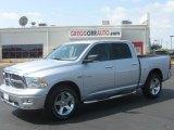 2010 Bright Silver Metallic Dodge Ram 1500 Big Horn Crew Cab 4x4 #34923903