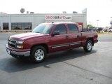 2006 Sport Red Metallic Chevrolet Silverado 1500 LT Crew Cab #34923910