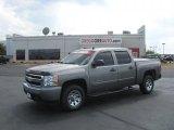 2008 Graystone Metallic Chevrolet Silverado 1500 LT Crew Cab #34923911