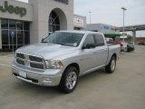 2011 Bright Silver Metallic Dodge Ram 1500 Lone Star Crew Cab #34923989
