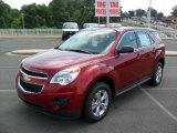 2010 Cardinal Red Metallic Chevrolet Equinox LS #34924282
