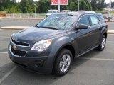 2010 Cyber Gray Metallic Chevrolet Equinox LS #34924284