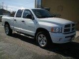 2005 Bright White Dodge Ram 1500 SLT Quad Cab 4x4 #3483947
