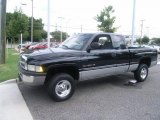 2001 Black Dodge Ram 1500 SLT Club Cab 4x4 #34924053