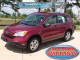 2007 Tango Red Pearl Honda CR-V LX #34924346