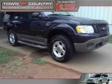 2001 Deep Wedgewood Blue Metallic Ford Explorer Sport 4x4 #34924080