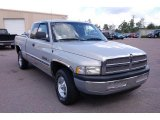 2000 Light Driftwood Satin Glow Dodge Ram 1500 SLT Extended Cab #34923814
