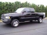 1999 Black Dodge Ram 1500 SLT Extended Cab 4x4 #34923816