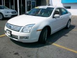 2008 White Suede Ford Fusion SEL V6 AWD #34994250