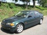 2001 Fern Green Metallic BMW 3 Series 325i Sedan #34994693