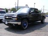 2006 Black Chevrolet Silverado 1500 LT Extended Cab 4x4 #34994898