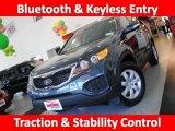 2011 Pacific Blue Kia Sorento LX #34994474