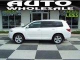 2010 Blizzard White Pearl Toyota Highlander Limited #34994755