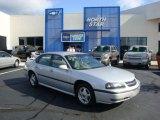 2001 Galaxy Silver Metallic Chevrolet Impala LS #34994514