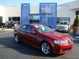 2009 Sport Red Metallic Pontiac G8 Sedan #34994520