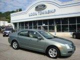 2008 Moss Green Metallic Ford Fusion SE #34994533