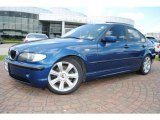 2003 Mystic Blue Metallic BMW 3 Series 325i Sedan #34994812