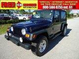 2006 Midnight Blue Pearl Jeep Wrangler Unlimited 4x4 #34995072
