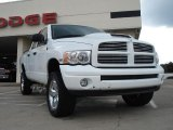 2003 Bright White Dodge Ram 1500 SLT Quad Cab 4x4 #34994865