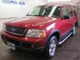 2003 Redfire Metallic Ford Explorer XLT 4x4 #34995152