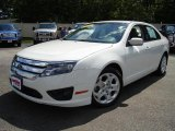 2010 White Suede Ford Fusion SE V6 #34994434