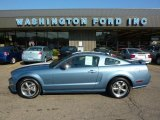 2006 Windveil Blue Metallic Ford Mustang GT Premium Coupe #34994675