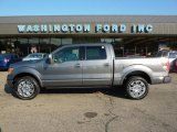 2010 Sterling Grey Metallic Ford F150 Platinum SuperCrew 4x4 #34994676