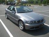 2004 Silver Grey Metallic BMW 3 Series 330i Convertible #35055141