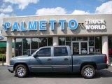 2007 Blue Granite Metallic Chevrolet Silverado 1500 Classic LS Crew Cab #35054909