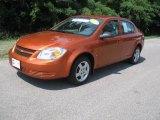 2007 Sunburst Orange Metallic Chevrolet Cobalt LS Sedan #35055179