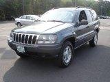 2002 Graphite Metallic Jeep Grand Cherokee Laredo 4x4 #35054394
