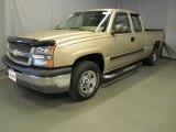 2004 Sandstone Metallic Chevrolet Silverado 1500 LS Extended Cab 4x4 #35054936