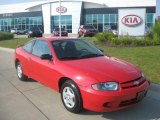 2003 Victory Red Chevrolet Cavalier Coupe #35055279