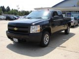 2008 Black Chevrolet Silverado 1500 Work Truck Extended Cab #35054668